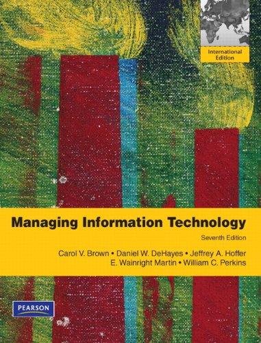 Managing Information Technology pdf epub