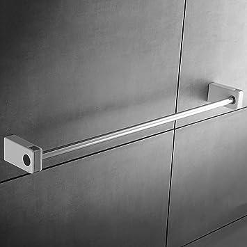 FACAIG Torre Colgador de Toallas de baño Toallas de baño baño Varilla Sencillo Colgante de Hardware Soportes de Acero Inoxidable para Colgar en Pared: ...
