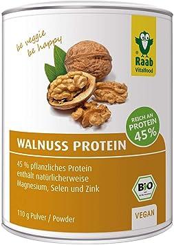 Proteína Nueces Raab 110 g: Amazon.es: Salud y cuidado personal