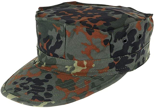Lejie Camuflaje Sombrero Militar de Los Hombres Cadete Gorra ...