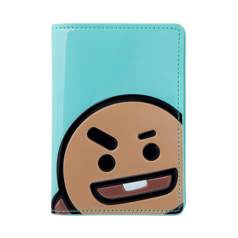BT21 Official BTS Merchandise by Line Friends - KOYA Character Enamel Passport Holder Cover (Designed by Bangtan Boys) #Ag1043