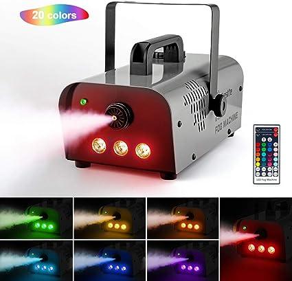 Halloween 2020 Lighting Amazon.com: Easife 2020 Halloween Professional Fog Machine