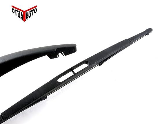 Parabrisas Trasero Brazo del limpiaparabrisas y Blade 410 mm: Amazon.es: Coche y moto