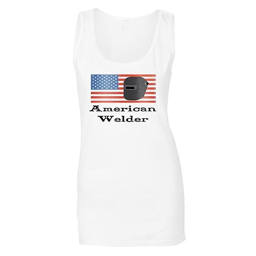 Soldador Americano 1 Camiseta sin Mangas Mujer s672ft: Amazon.es: Ropa y accesorios