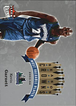 2006-07 Ultra Season Crowns #SCKG Kevin Garnett at Amazons Sports Collectibles Store
