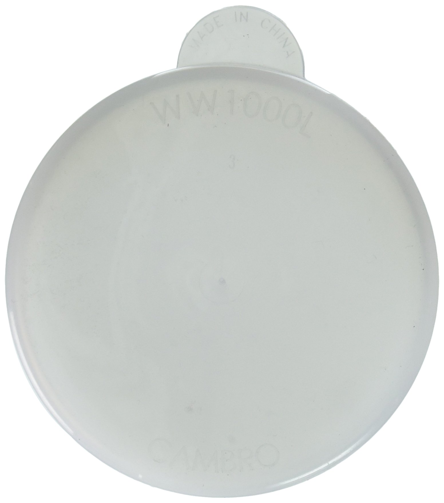 Cambro Replacement Lid for 1 1/2 Liter, 1 Liter and 1/2 Liter Camliter White (WW1000L148) Category: Food Storage Boxes