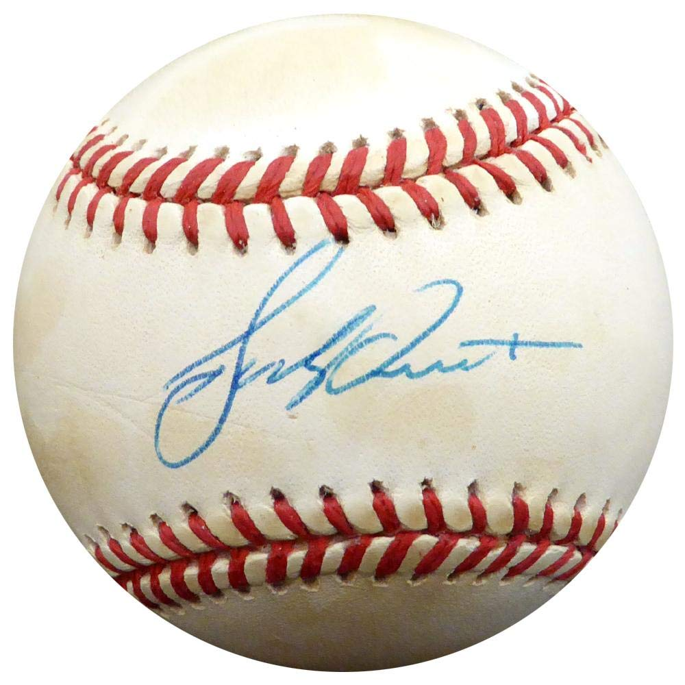 Bucky Dent Autographed Ball - Official AL Beckett BAS #F26619 - Beckett Authentication - Autographed Baseballs Mill Creek Sports