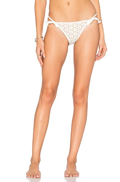 For Love and Lemons Alicante Lace Ruffle Swim Bottom (XS)