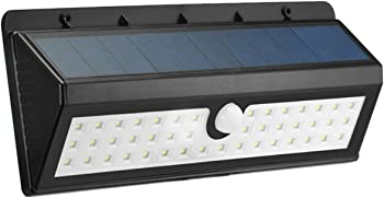 Kingso 44-LED Wireless Motion Activated LED Solar Powered Light