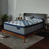 Serta Icomfort 500822053-1060 Hybrid 14 Blue Fusion 1000 Plush Conventional Bed Mattress, King, Gray