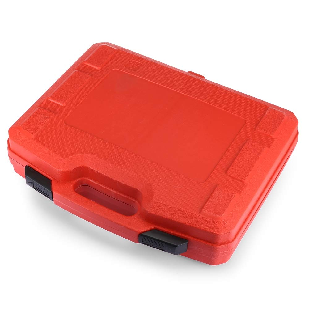 Water Tank Leak Detector Kit Radiator Pressure Tester Pump Adapters 14 PCs Pressure Cooling System car Leak Tester Kit Detector Tool Auto Coolant Vacuum Purge Head Gasket Universal Automotive by PADY- Automotive (Image #4)
