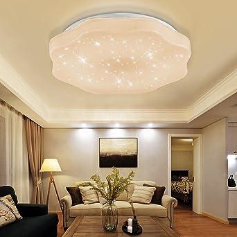 YESDA LED Deckenleuchte Deckenbeleuchtung Wohnzimmer Deckenlampe Korridor  Schlafzimmer Schönes Mordern Lampe (18W Warmweiß)
