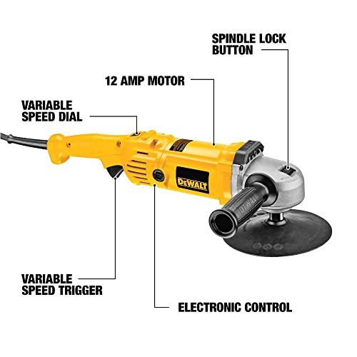 DEWALT Variable Speed Polisher, 7-Inch to 9-Inch DWP849