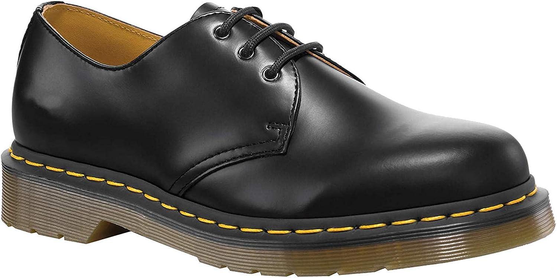 TALLA 39 EU. Dr. Martens 1461 Crazy Horse, Zapatos de Cordones Oxford para Hombre