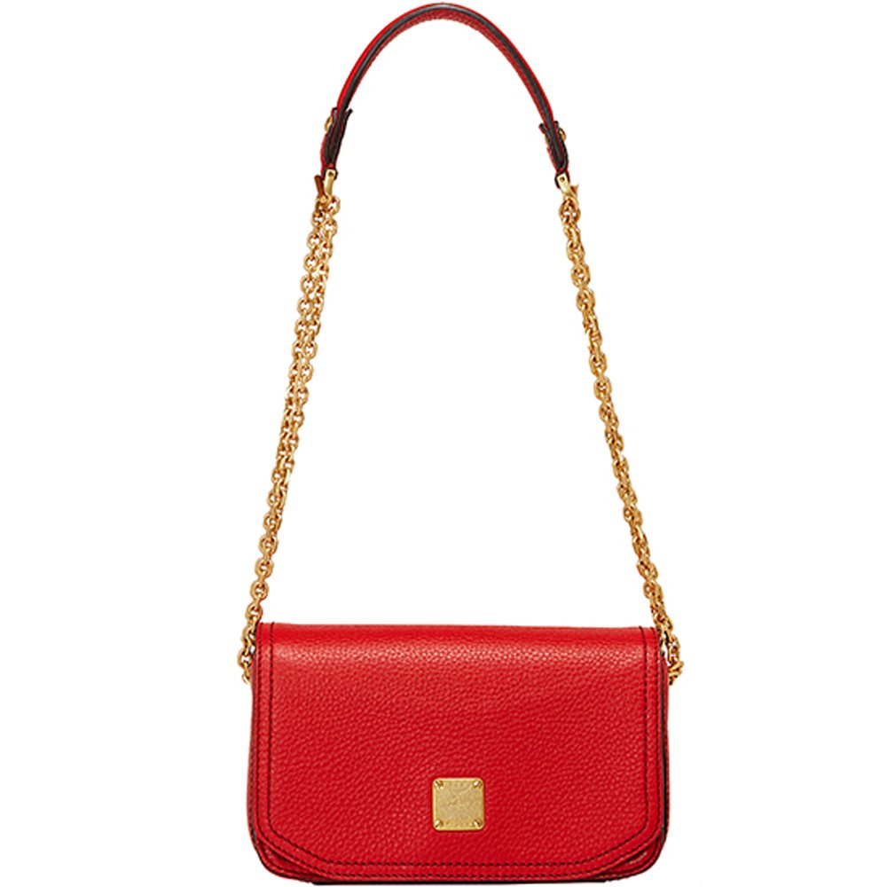 MCM Authentic FIRST LADY Mini Shoulder Bag - Chinese Red MWS3AAF08RN (Only 2 Left)