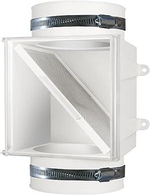 Dundas Jafine PCLT4WZW Dryer Duct Lint Trap, 1-Pack