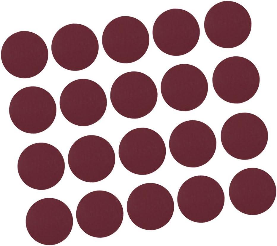 20x 75mm Discos De Lijado 40-2000 Lijadoras Orbitales De Lijado Pulido Abrasivo P150