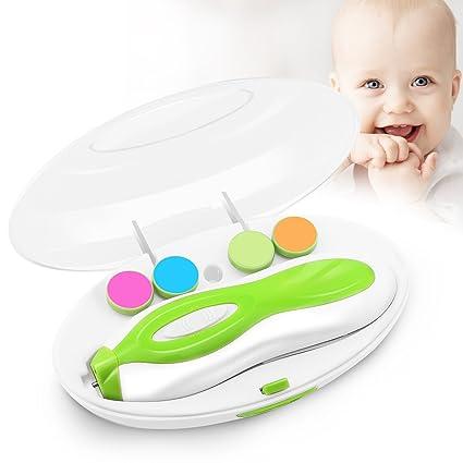 Zooawa Cortauñas Kit,Portátil Versátil Seguro Equipo de Lima de Uñas para Bebés recién Nacidos o para los Dedos de los Pies y las Uñas Fácil ...