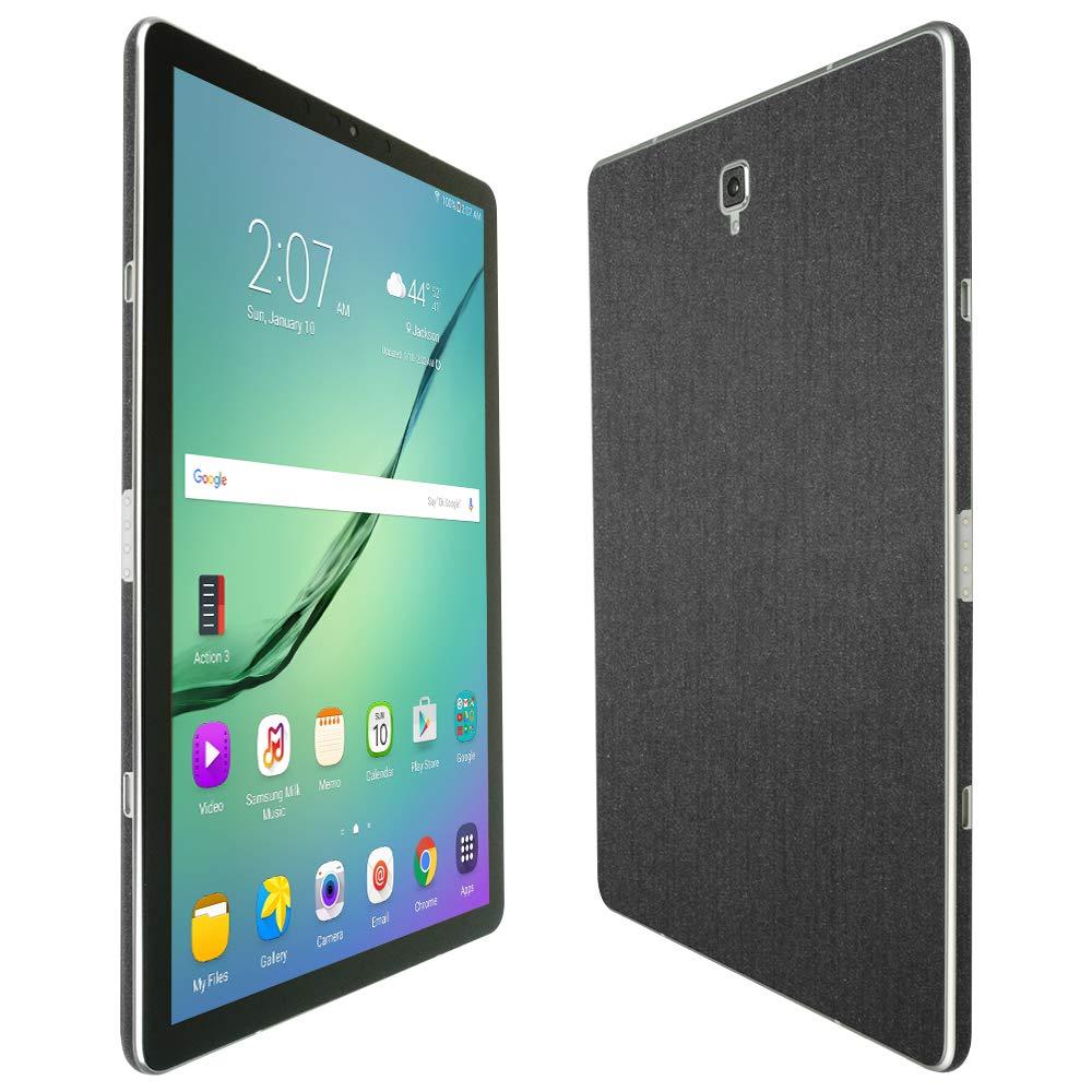 Skinomi Samsung Galaxy Tab s4スクリーンプロテクター+ Brushedスチールフルボディ(10.5 CM、sm-t1835 ) TechSkin、Brushedスチールスキンfor Samsung Galaxy Tab s4 with気泡防止クリアフィルム画面   B07BZ5MLT9