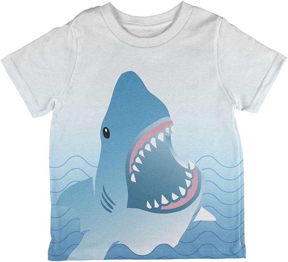 Shark Love Toddler T Shirt