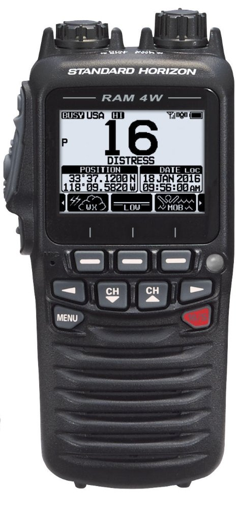 Standard Horizon SSM-71H 2.5'' Wireless Remote Access Microphone