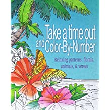 Take a Time Out and Color by Number: Relaxing Patterns, Florals, Animals, & Verses