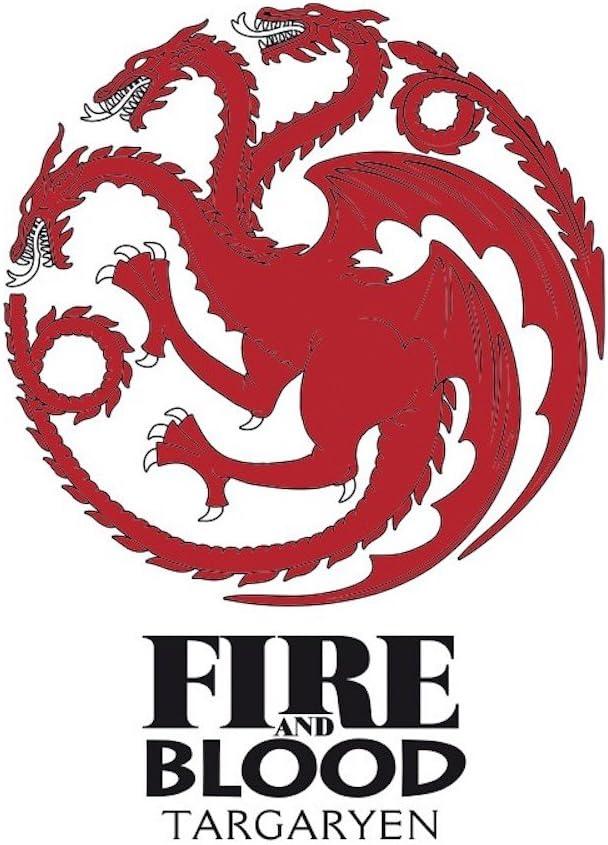 Haus Targaryen HBO Bierglas F/üllmenge ca 500 ml Game of Thrones