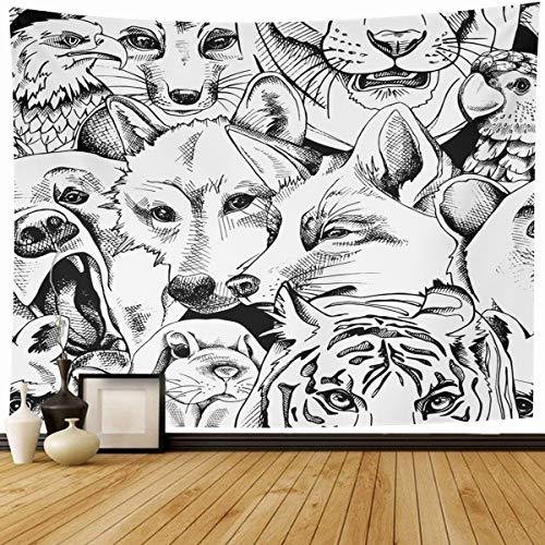39d8db0a1368 Ahawoso Tapestry Wall Hanging 80