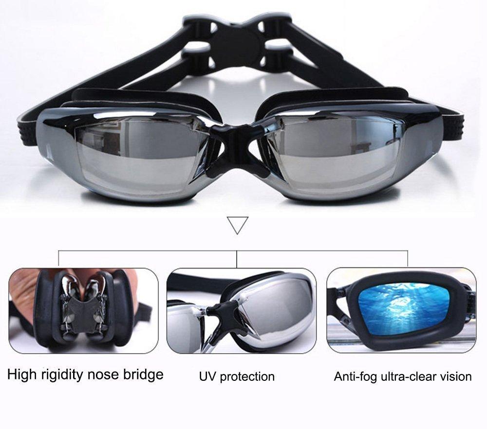 ZHENYA Swimming Goggles Prescription Swimming Goggles Nearsighted Shortsighted Optical Swim Glasses Lens