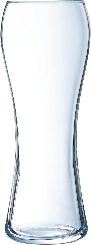 transparent 6 St/ück Arcoroc ARC L9938 Beer Legend Biertulpe Bierglas Glas 470ml