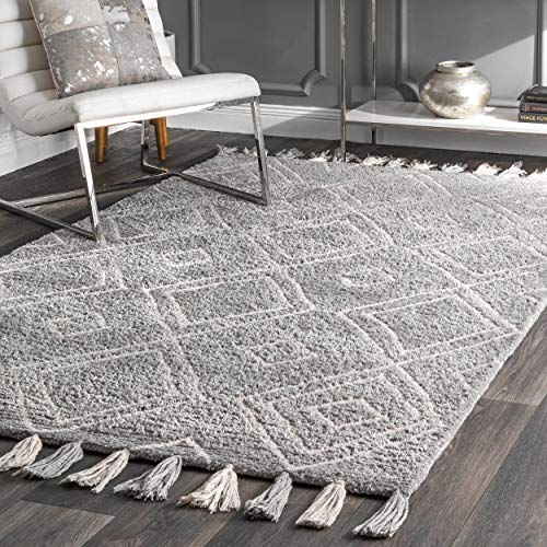 Amazon.com: NuLOOM GYML02B Moroccan Laurie Wool Rug 8' 6
