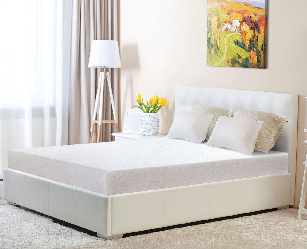 PrimaSleep PR09FM03F 9 Inch Multi-Layered Memory Foam Full Mattress,