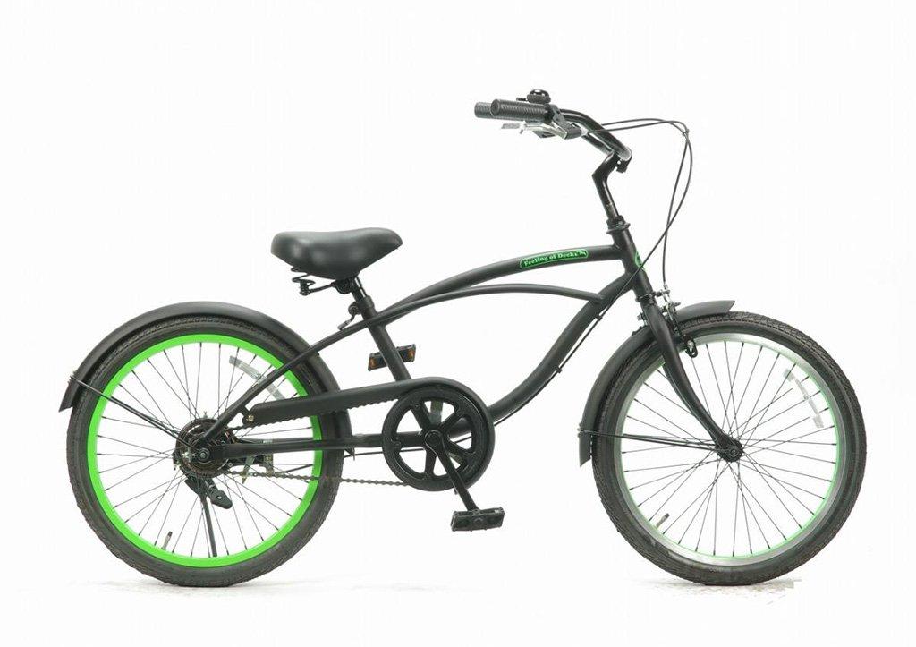 【 Feeling of decks FOD 20 inch@24840 】 フィーリングオブデッキ 20インチ自転車 サイクル B07542RPH8 B.LIME B.LIME