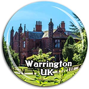 Walton Hall and Gardens Warrington UK Fridge Magnet 3D Crystal Glass Tourist City Travel Souvenir Collection Gift Strong Refrigerator Sticker