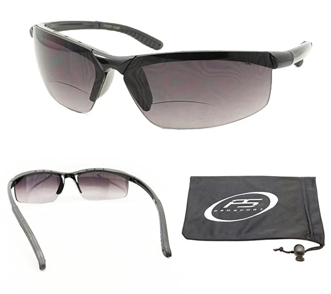 f3a1d325d2 Amazon.com  Rimless Sports Bifocal Glasses Tinted  Clothing