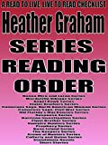 heather graham series reading order a read to live live to read checklist donna miro and lorna doria series macauliffe vikings series angel hawk series slater brothers series camerons saga