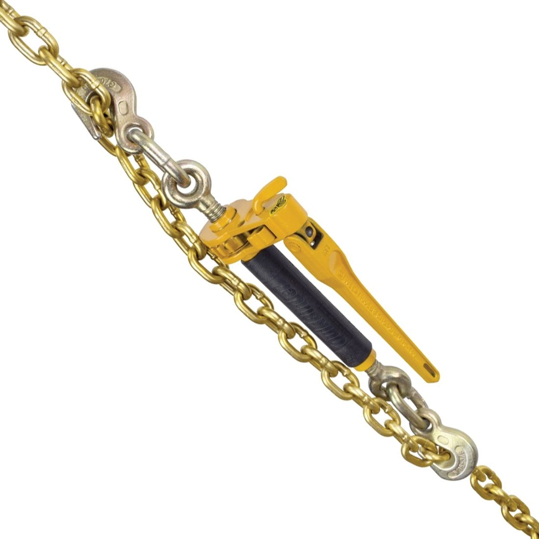 Peerless Ratchet Style Folding Handle Load Binder With 2 Grab Hooks 7,100 lbs Safe Working Load For 5//16 Grade 70, 3//8 Grade 70 or 3//8 Grade 80 Chain - Pack of 4