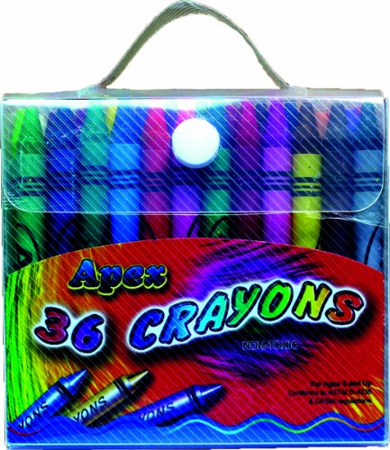 Apex Crayons 36ct Assorted Colors 60 pcs sku# 1277494MA by DDI