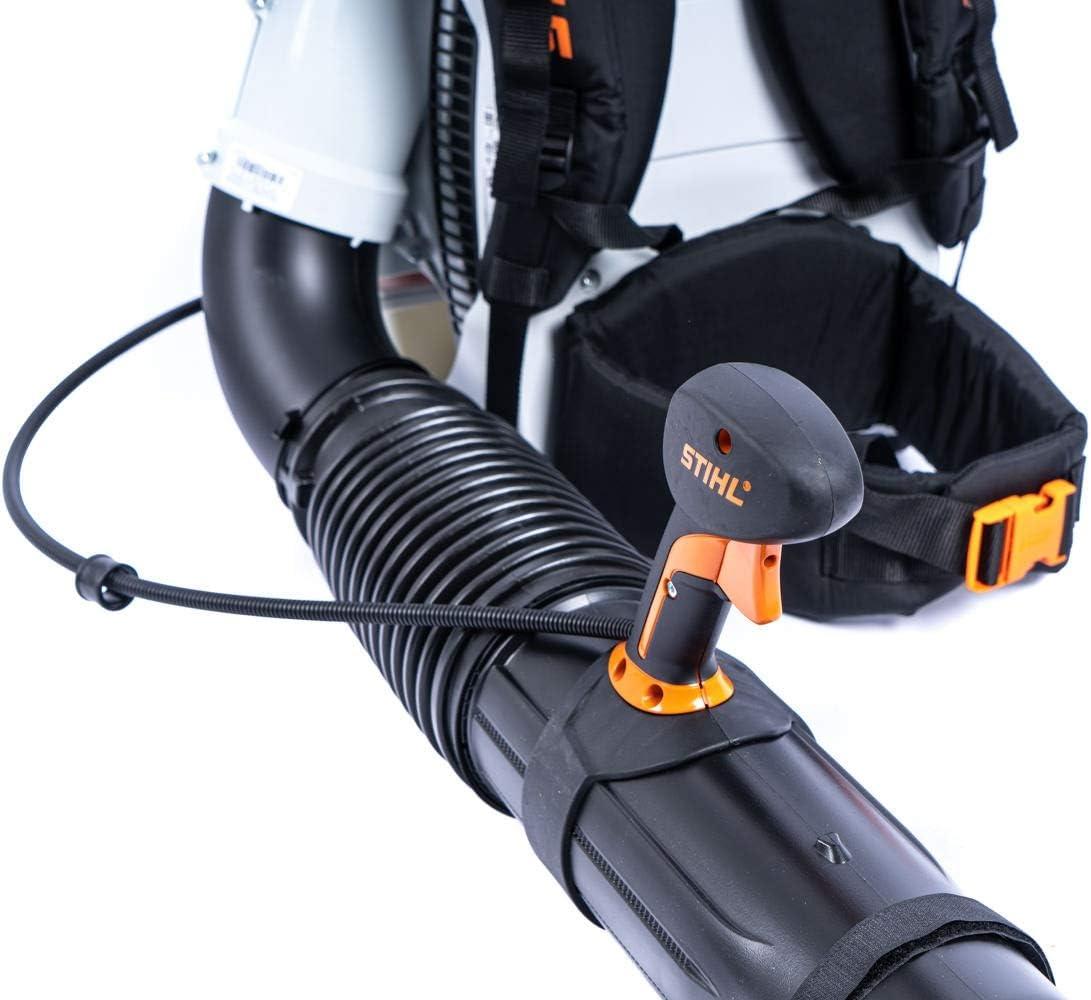 Soplador de hojas de Stihl BR 700, profesional, con tubo de soplado ajustable y un máx. Fuerza de soplado de 88 m/s: Amazon.es: Jardín