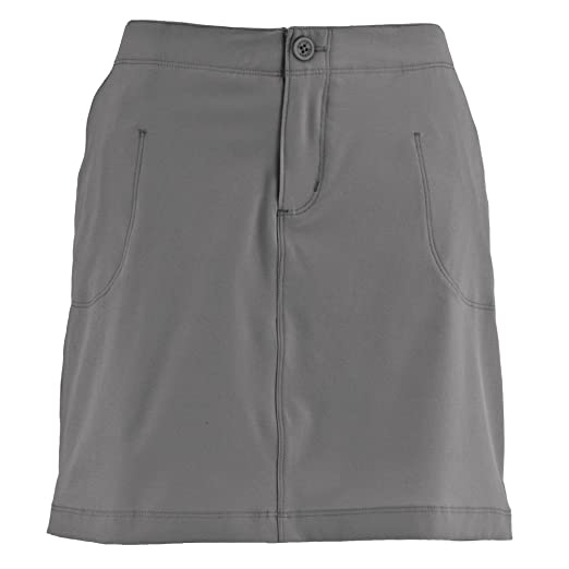 eafc990bc02b Amazon.com: White Sierra West Loop Plus Size Trail Skort - Extended Sizes:  Clothing