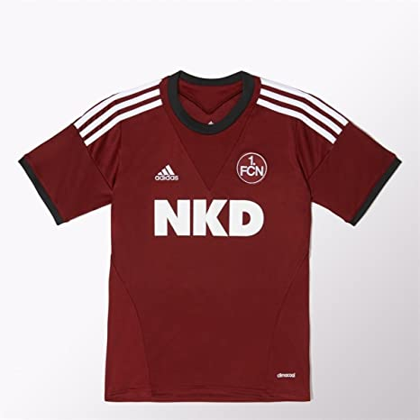 Adidas - Camiseta infantil, diseño de FC Nürnberg, color burdeos ...