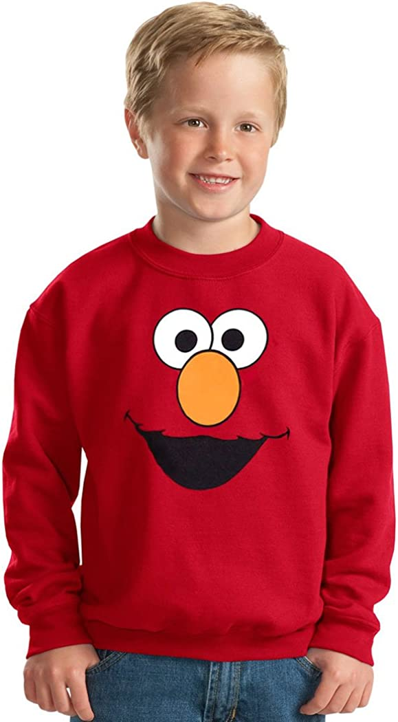 Elmo Face Toddler Sweatshirt