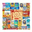 Variety Snack Care Package Cookie Chips & Candies Party Gift Bundle (40 Count)
