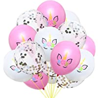 15 Pcs/Set Unicorn Balloons Cute Colorful Latex Balloons Baloon Unicorn Party Decoration Balloons Birthday Party Decor…