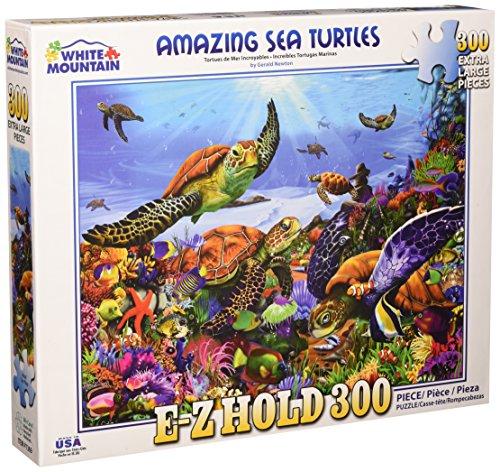 - White Mountain Puzzles 1369 Amazing Sea Turtles