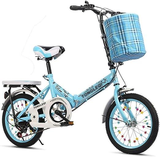 Paseo Bicicleta Plegable Alta De Acero Al Carbono De Bicicletas ...