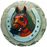 Spoontiques Horse/Horseshoe Stepping Stone