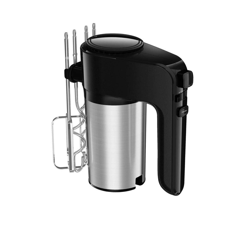 Accesorios de acero inoxidable 6 velocidades Libre de BPA. 300W funci/ón Turbo Boost y bot/ón de expulsi/ón Batidora de amasadora de varillas para reposter/ía Aigostar Hanson 30LYM