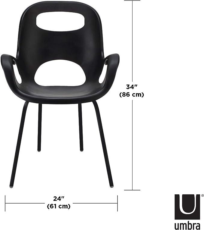 Umbra 320150-660 Oh Chair Bianco