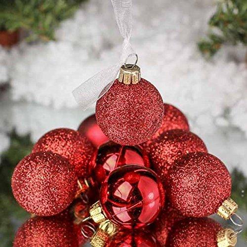 Unido Box Christmas Ball Ornament 24 Pack, 2.5